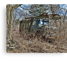 old military vehicle 2? Canvas Print