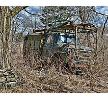 old military vehicle 2? Photographic Print