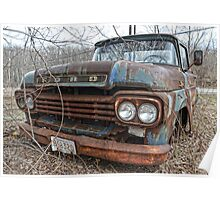old Ford truck2 Poster