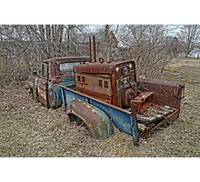old Ford truck3 Photographic Print