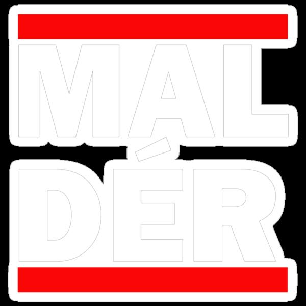 """MALDÉR """"RUN"""" Tee by MALDÉR London"""