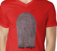 A walk from the grave Mens V-Neck T-Shirt