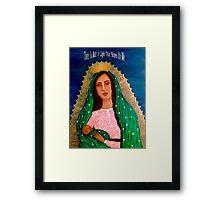 Cúbreme Con Tu Manto  Framed Print