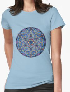 Infinite Refraction Womens Fitted T-Shirt