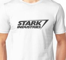 Stark Industries v2 : Black Unisex T-Shirt