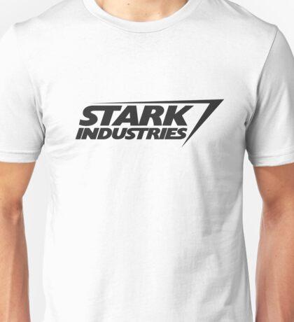 Stark Industries v2 : Black Unisex T-Shirt