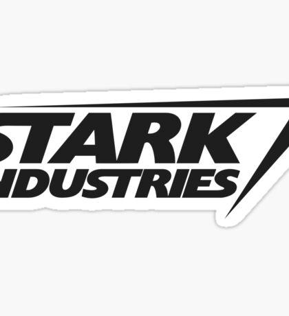 Stark Industries v2 : Black Sticker