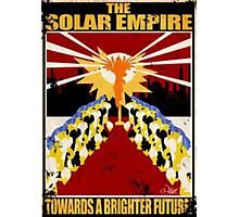 Solar Empire Propaganda Photographic Print