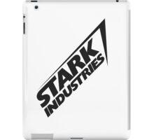 Stark Industries v2 : Black iPad Case/Skin