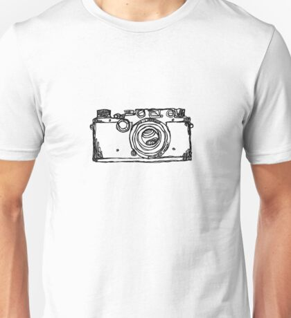 1946/47 Leica IIIc Illustration Tee Unisex T-Shirt