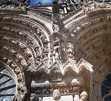 Reims Cathedral I by Talia Felix