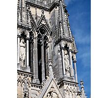 Reims Cathedral IV Photographic Print