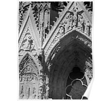 Reims Cathedral VI Poster