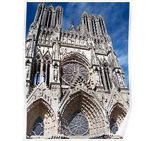 Reims Cathedral VIII Poster