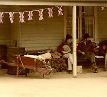 A moment in the Gold rush era at Ballarat... by kenea