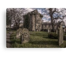 Corbridge Vicar's Pele Canvas Print