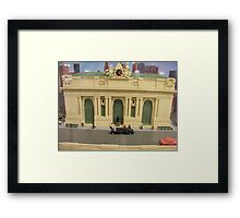 Lego Grand Central Terminal, Grand Central Station, New York City Framed Print