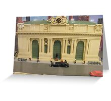 Lego Grand Central Terminal, Grand Central Station, New York City Greeting Card