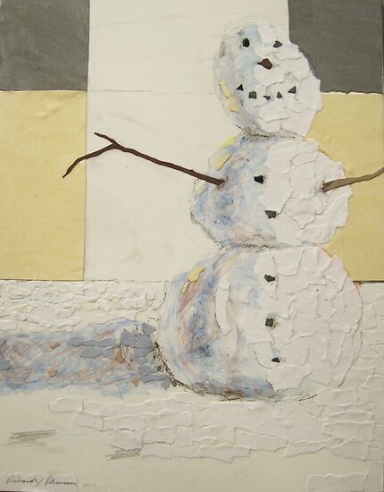 """Man of snow"" by Richard Robinson"