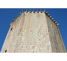 The Veriga Tower in Trogir Photographic Print