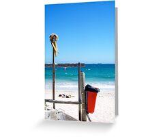 Horizon Line Mosman Beach - 26 03 13 Greeting Card
