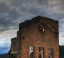 Blast Furnace, Lithgow by Mandy  Harvey
