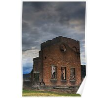Blast Furnace, Lithgow Poster