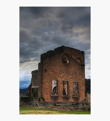 Blast Furnace, Lithgow Photographic Print