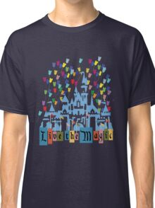 Live the Magic - Vintage Castle Classic T-Shirt