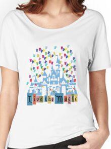 Live the Magic - Vintage Castle Women's Relaxed Fit T-Shirt