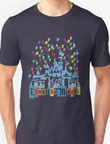 Live the Magic - Vintage Castle T-Shirt