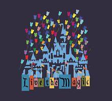 Live the Magic - Vintage Castle T-Shirt