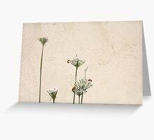 Three Bees - 31 03 13 Greeting Card