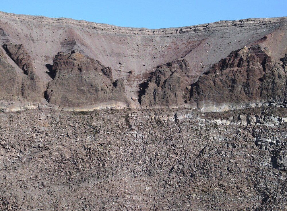 Mount Vesuvius Crater by kirilart