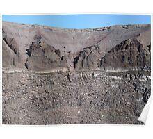 Mount Vesuvius Crater Poster