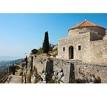 Fortress Klis near Split Photographic Print