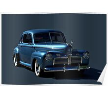 1942 Ford Coupe Poster