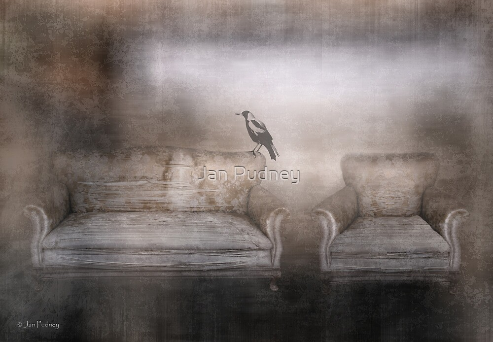 Perched by Jan Pudney