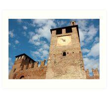 Castelvecchio in Verona Art Print