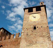 Castelvecchio in Verona by kirilart