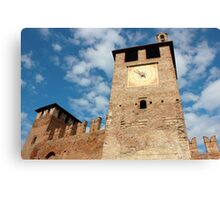 Castelvecchio in Verona Canvas Print