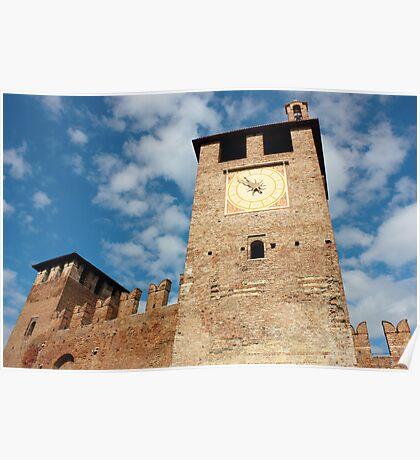 Castelvecchio in Verona Poster