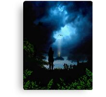 Calmness in the Storm of Life Canvas Print