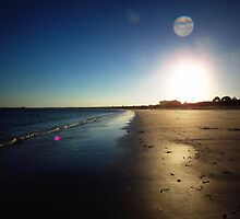 Callala Beach Sunset 1 by Paul Todd
