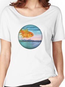 goldfish sunrise Women's Relaxed Fit T-Shirt