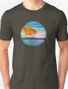 goldfish sunrise Unisex T-Shirt