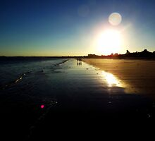 Callala Beach Sunset 2 by Paul Todd