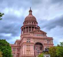 Closeup of Texas Capitol by KKooPhotography