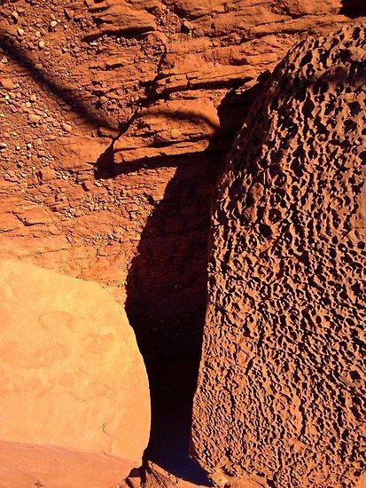 martian rocks(?) by Erik Lopez
