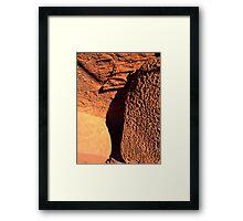 martian rocks(?) Framed Print